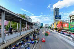 Central Ladprao is a shopping plaza in Bangkok, Thailand. Bangkok, Thailand - July 8, 2016: Central Ladprao is a shopping plaza in Bangkok, Thailand with Bangkok royalty free stock images