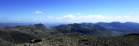 Central Lake District Fells Stock Image