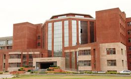Central Library Amity University, Noida. Central Library building at Amity University, Noida , UP, India Stock Images