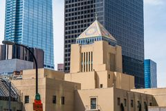 Free Central Library Building In Downtown Los Angeles - CALIFORNIA, USA - MARCH 18, 2019 Royalty Free Stock Image - 145059586