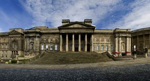 Central Library in Liverpool Stock Image