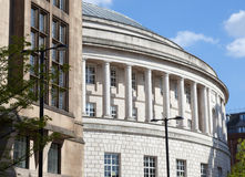 Central Library and Town Hall, Manchester Stock Photos