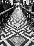 Central Library of university of oxford shoot in black and white Stock Photo