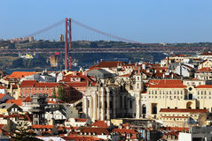 Central Lisbon Royalty Free Stock Photo
