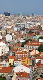 Central Lisbon Royalty Free Stock Photos