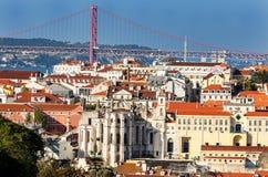 Central Lisbon Stock Photo