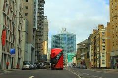 Central London gatasikt England Royaltyfria Foton
