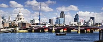 Central London panorama Stock Images