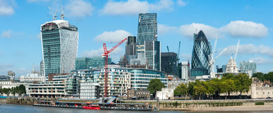 Central London panorama Royalty Free Stock Photo