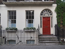 Central London townhouse Stock Photo