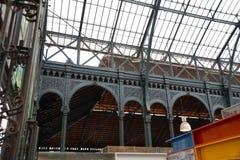 Central Malaga de Mercado Photographie stock libre de droits