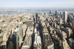 Central Manhattan View, editorial Stock Images
