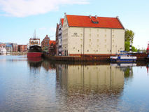 Central Maritime Museum in Gdansk. Stock Photo