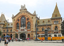 Central Market Budapest Stock Images