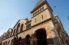 Central market hall (Vásárcsarnok ) in Budapest Royalty Free Stock Photography