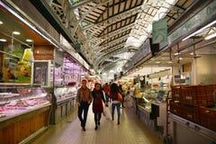 Central Market - Mercado Central in Plaza Ciudad De Brujas, Valencia Royalty Free Stock Photo