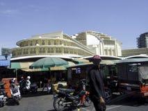 Central Market, Phnom Penh, Cambodia Stock Image