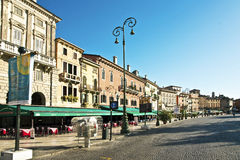 Central market place in Verona Stock Photos