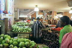 Central Market of Port Louis, Mauritius Royalty Free Stock Photo