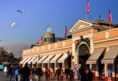 Central Market in Santiago de Chile. Central Market in Chile, Chile royalty free stock image