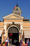 Central Market in Santiago de Chile. Chile royalty free stock photo