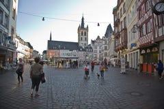 Central market square,Trier Stock Image