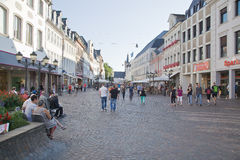 Central market square,Trier Royalty Free Stock Photography