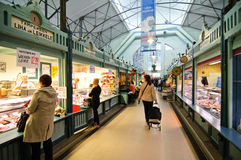 Central market in Tampere Finland Stock Photos