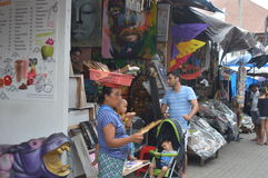 Central Market Ubud Bali Royalty Free Stock Photos