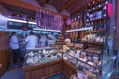 Central Market in Valencia Royalty Free Stock Photo
