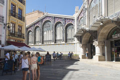 Central Market, Valencia, Spain Stock Photos