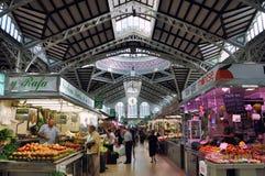 Central Market in Valencia, Spain Stock Photos