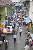 Central market in yangon myanmar Stock Photos