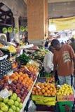 Central marknad av Port Louis, Mauritius Fotografering för Bildbyråer