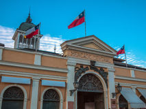 Central marknad av Santiago Royaltyfria Foton