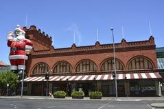 Central marknad i Adelaide Arkivfoto
