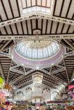 Central marknad i Valencia Arkivfoto