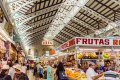 Central marknad i Valencia Royaltyfri Bild