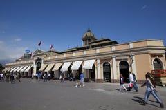 central mercado santiago Arkivfoto