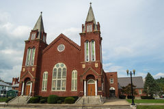 Central Methodist Church, Clifton Forge, VA Stock Image