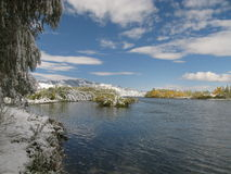 Free Central Mongolia Landscape, Selenge River Stock Photography - 36016162
