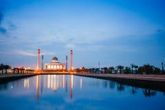 Central moské i Songkla, Thailand royaltyfria bilder