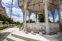 Central Mosque in Adana, Turkey. Royalty Free Stock Image
