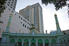 Central Mosque in Ho Chi Minh City Royalty Free Stock Photo