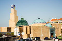 The central mosque in Lisbon, Portugal Stock Images