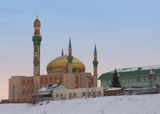 Central Mosque named by R.G. Galeev. Almetyevsk Royalty Free Stock Images