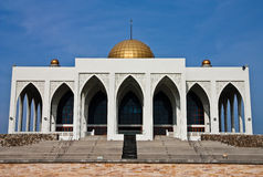 Central mosque of Songkhla province, Thailand. Taken in Songkla province, Thailand Royalty Free Stock Image