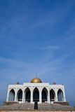 Central mosque of Songkhla province, Thailand. Huge mosque in south ot Thailand Royalty Free Stock Images