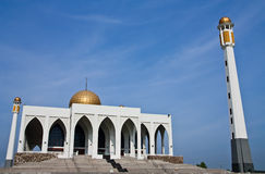 Central mosque of Songkhla province, Thailand Royalty Free Stock Photography