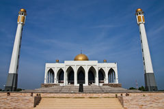 Central mosque of Songkhla province, Thailand Royalty Free Stock Photos